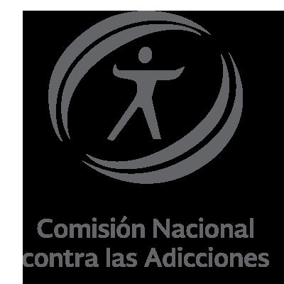 Logo de la Comisión Nacional contra las Adicciones
